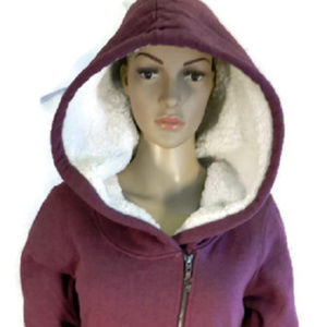 ROXY Red Hooded Jacket. NWT. M